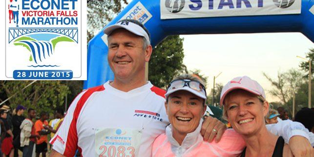 Victoria Falls Marathon 2015